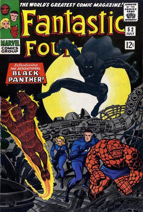 Introduced issue #52 the Black Panther would come to be a long-time ally.